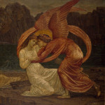 Edward Burne-Jones palace green murals of cupid and psyche
